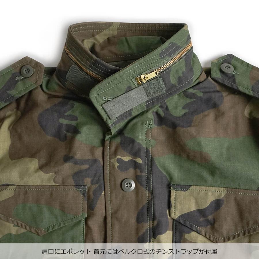 アルファ インダストリーズ ALPHA M-65 フィールドジャケット BIG SIZE 大きいサイズ M65 FIELD JACKET INDUSTRIES jalana 10