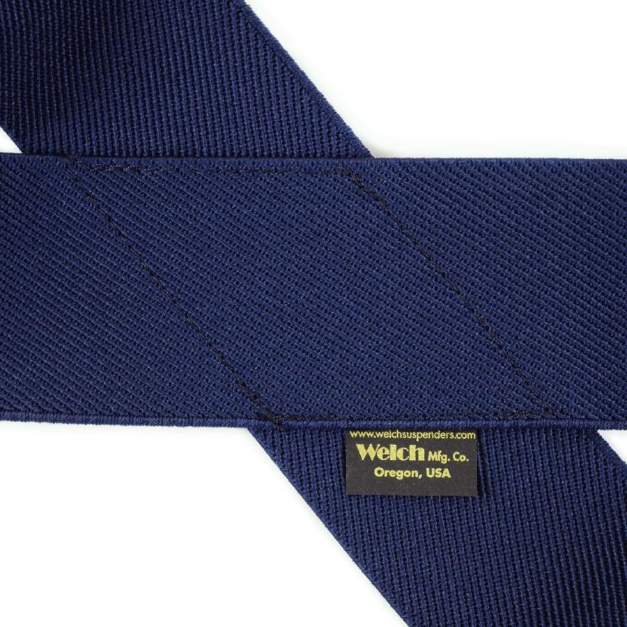 プリズンブルース PRISON BLUES レザーエンドサスペンダー ブルー アメリカ製 米国製|jalana|08