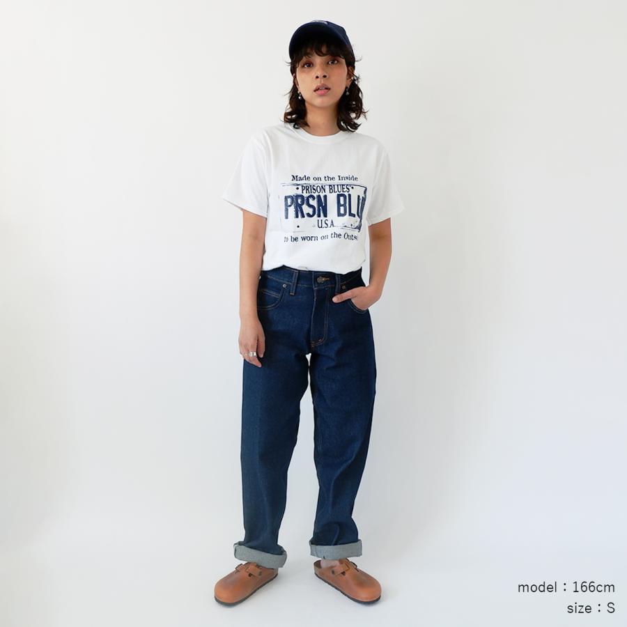 プリズンブルース PRISON BLUES 半袖 USA プレートロゴ TシャツプリントTシャツ USA PLATE LOGO T-SHIRTS|jalana|04