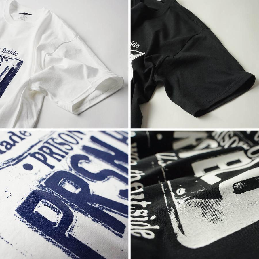 プリズンブルース PRISON BLUES 半袖 USA プレートロゴ TシャツプリントTシャツ USA PLATE LOGO T-SHIRTS|jalana|09