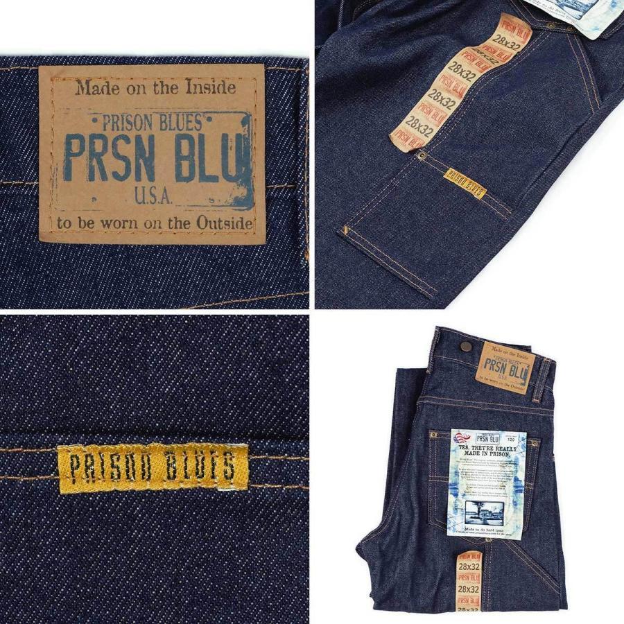 プリズンブルース PRISON BLUES ワークジーンズ サスペンダーボタン リジッドブルー アメリカ製 米国製 デニム ペインターパンツ   MADE IN USA メンズ ハンド jalana 07