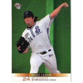 304 【B.リーチ/横浜ベイスターズ】2011 BBM ベースボールカード 1st ...