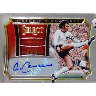 【Franz Beckenbauer (Germany) 】PANINI 2015-16 SELECT SOCCER 【直筆サインカード】 75枚限定 (46/75)