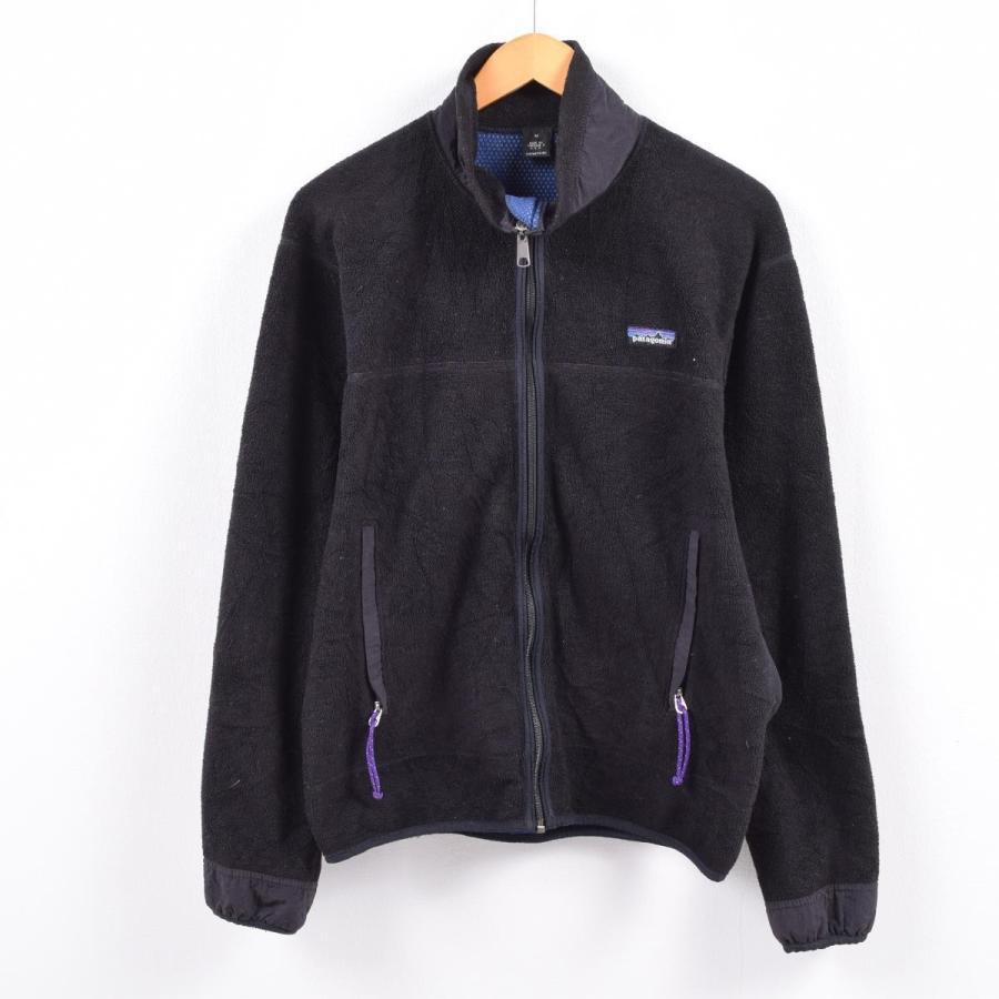 90年代 パタゴニア Patagonia ライトXカーディガン フリースジャケット USA製 メンズM 【中古】 【191109】 /wbk1320