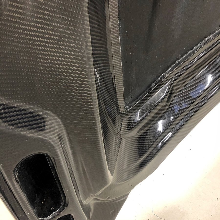 レンジローバースポーツ用ダブルカーボンボンネット|jandl-automotive|09