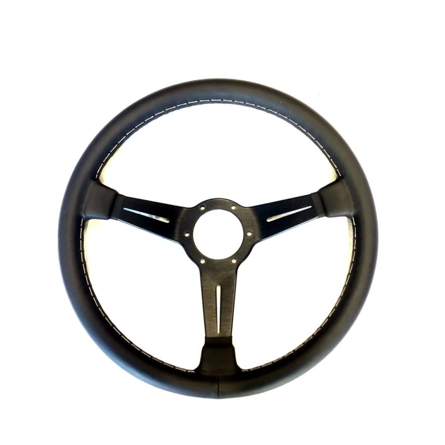 NARDIナルディクラシックレザーブラックスポーク360mm|jandl-automotive