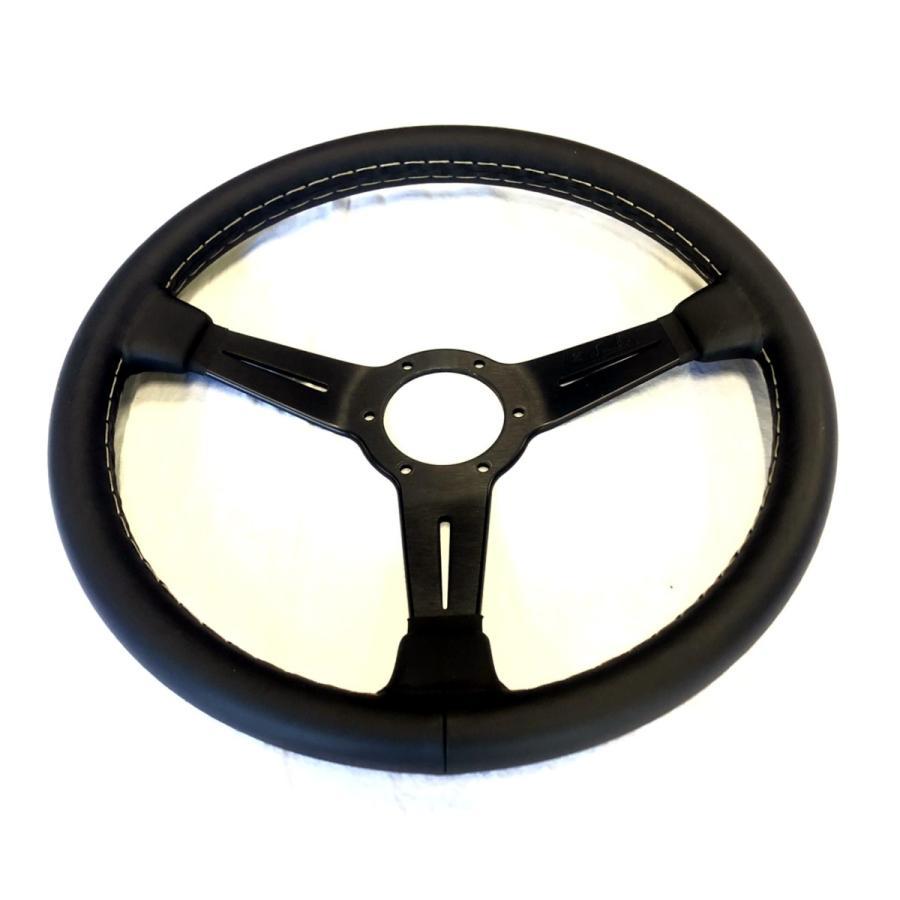 NARDIナルディクラシックレザーブラックスポーク360mm|jandl-automotive|02