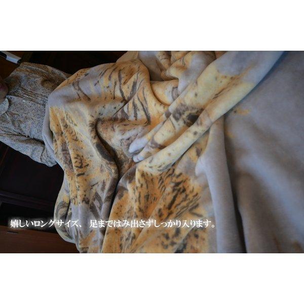 SALE ゴッホ ひまわり 綿毛布 日本製 メーカー直販 抗菌防臭 シングル アート コットンブランケット(毛羽部分)|japan-blanket|07