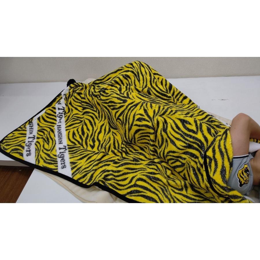 タオルケット 日本製 阪神タイガース トラ柄 メーカー直販 シングル|japan-blanket|06