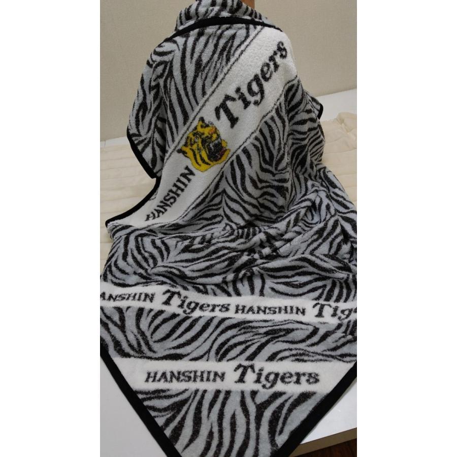 タオルケット 日本製 阪神タイガース トラ柄 メーカー直販 シングル|japan-blanket|07