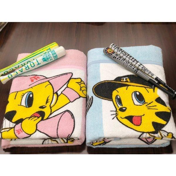 タオルケット 日本製 阪神タイガース トラッキーとラッキー メーカー直販 シングル|japan-blanket|06