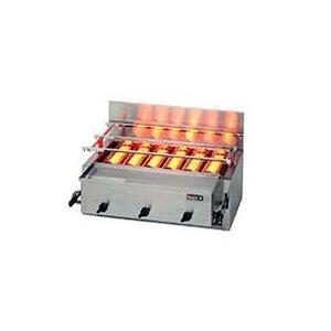 リンナイ ガス赤外線グリラー 新荒磯6号 RGA-406B 1コック2バーナー (個人宅配送不可)