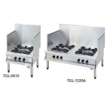 タニコー ガスローレンジ(スープレンジ) プラスワンシリーズ TGL-1220A 幅1200×奥行750×高さ450(mm)