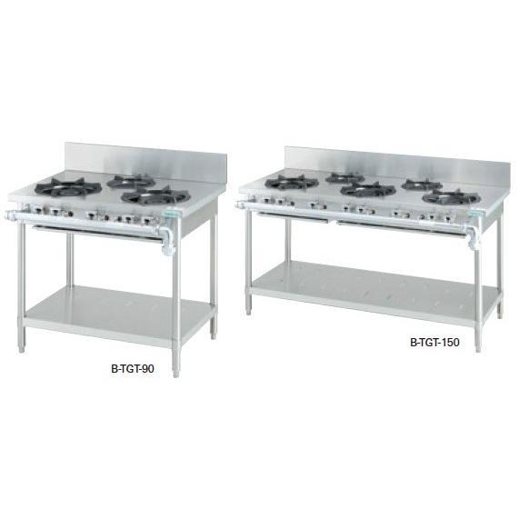 タニコー ガステーブル スタンダードシリーズ B-TGT-150A 幅1500×奥行750×高さ800(mm)