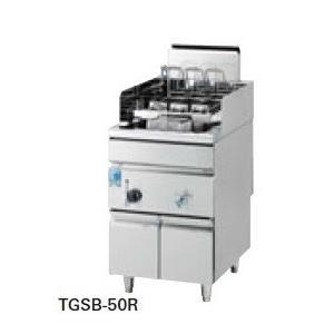 タニコー スパゲティーボイラー 反動式 TGSB-50R 幅500×奥行650×高さ800(mm)