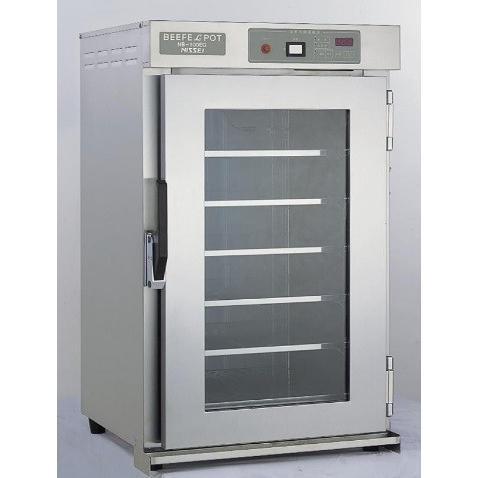 アンナカ 遠赤外線温蔵庫 NB-100EGR (パススルー仕様) 幅535×奥行500×高さ875(mm) 単相100V仕様