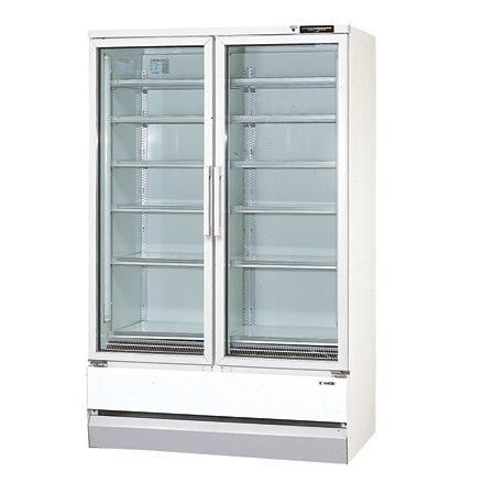 サンデン 冷蔵ショーケース リーチインタイプ RMS-40ZB 幅1200×奥行705×高さ1900(mm) 【個人宅配送不可】