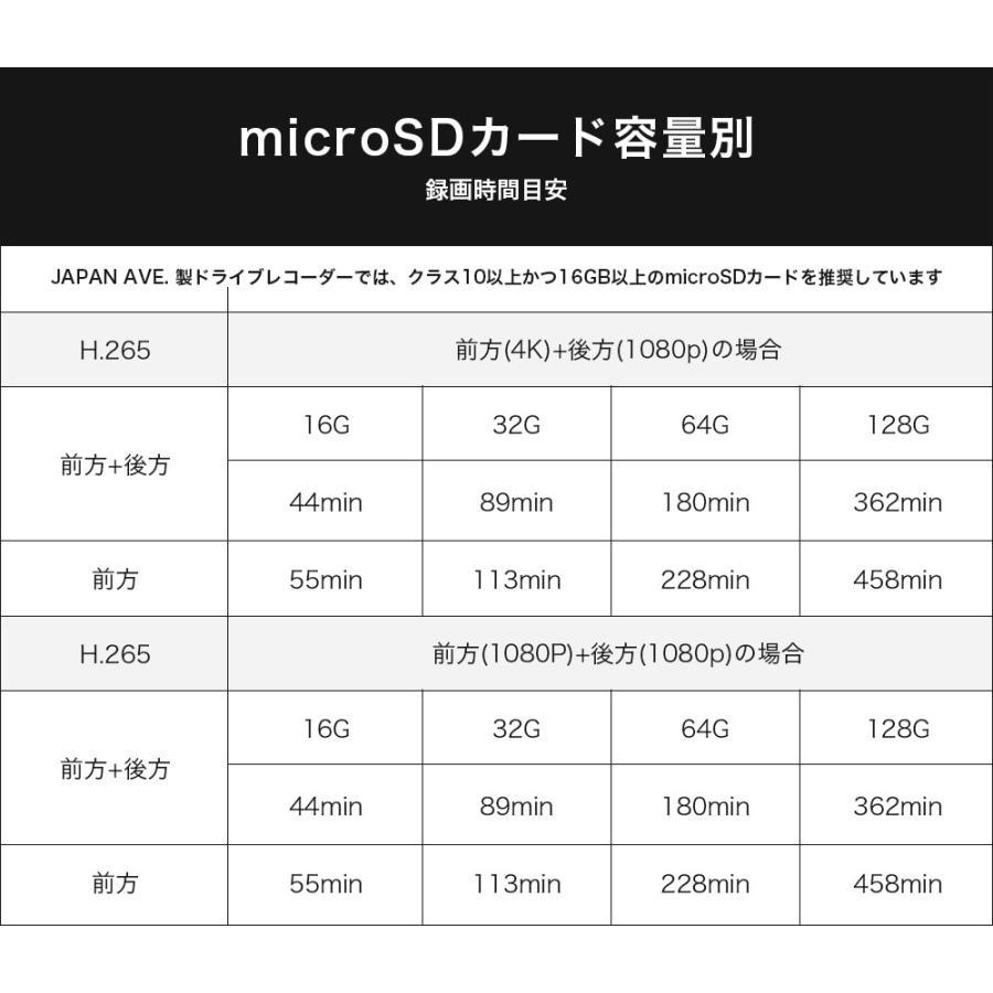microSD カード 128GB micro SD カード JAPAN AVE 専用 ドライブレコーダー 専用 GT65 動作確認済み JAPAN AVE.|japanave-y-shop|02