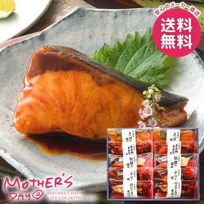 鳥取 山陰大松 氷温熟成 煮魚・焼き魚セット HNYG-100母