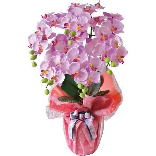 【のし·包装不可】内祝い 内祝 お返し  胡蝶蘭 ブーケ 花束 花 ギフト コチョウラン 5本立て 造花 ラベンダー SG-6045L (6)