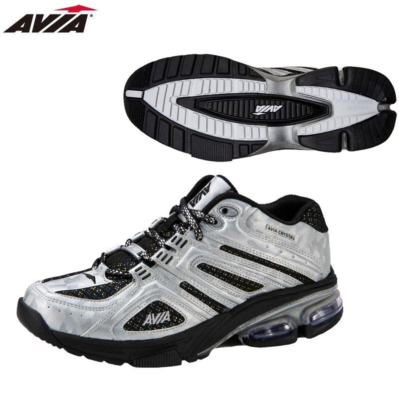 【公式】 AVIA アヴィア フィットネスシューズ クッション性・安定性・反発 A6812W SLB【2019年春夏モデル】, オダグン 910c4e96