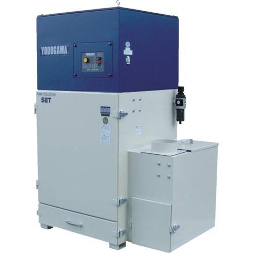 運賃見積り 直送品 淀川電機 トップランナーモータ搭載溶接ヒューム用集塵機(1.5kW) SET150PTEC-60HZ