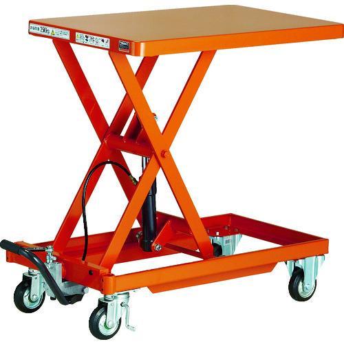 (運賃見積り) (直送品) TRUSCO 作業台リフター 1000kg 600X1200 ハンドルレス HLLA-E1000