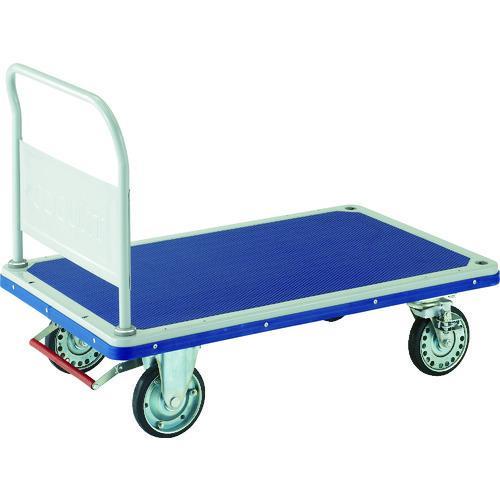 運賃見積り 直送品 TRUSCO ドンキーカート 固定式1225×775 ピン式4輪S付 502NJKB4