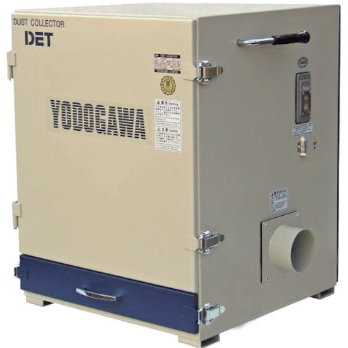 【納期約1ヶ月】運賃見積り 直送品 淀川電機 カートリッジフィルター集塵機(0.4kW) DET400A