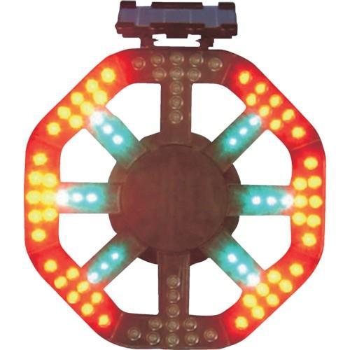 運賃見積り 直送品 グリーンクロス ソーラー式警告灯 本体のみ 1109500211