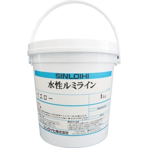 シンロイヒ 水性ルミライン 1kg レッド 2000HC