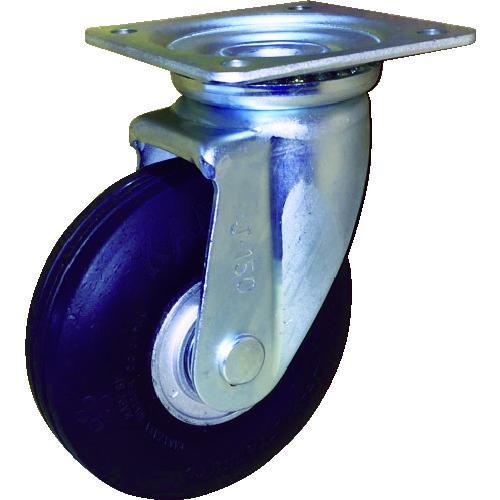 カナツー ゼロプレッシャータイヤ 自在金具付 荷重93.1 ZP-O 8X2.00MS-GY