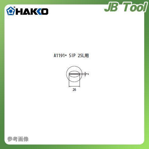 納期約3週間 白光 HAKKO FR-801、FR-802、FR-903B用 ノズル A1191