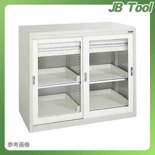 直送品 サカエ SAKAE キャビネット保管庫・引戸式タイプ(ボールスライドレール) K10-H121ABGY