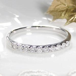 フジオカシ K10 WG ゴールド 指輪 リング ダイヤモンド ダイヤ エタニティ 0.2ct H-SIクラス 一文字 細身 CAR-0107, メンズカジュアル通販MC-エムシー 9d9c4d03