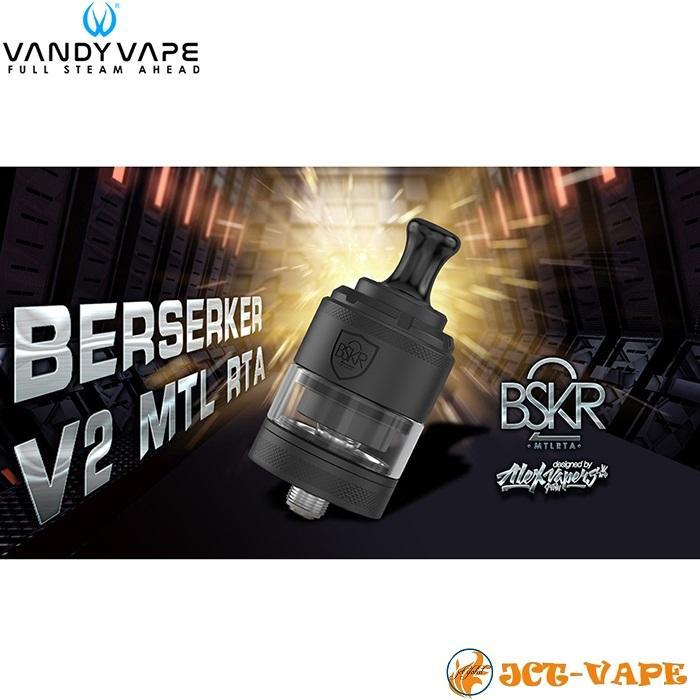 Vandy Vape Berserker V2 MTL RTA D24mm バンディー ベープ バーサーカー アトマイザー 電子タバコ jct-vape 02