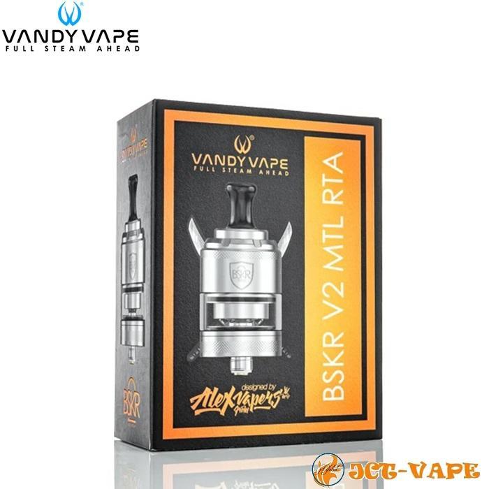 Vandy Vape Berserker V2 MTL RTA D24mm バンディー ベープ バーサーカー アトマイザー 電子タバコ jct-vape 11