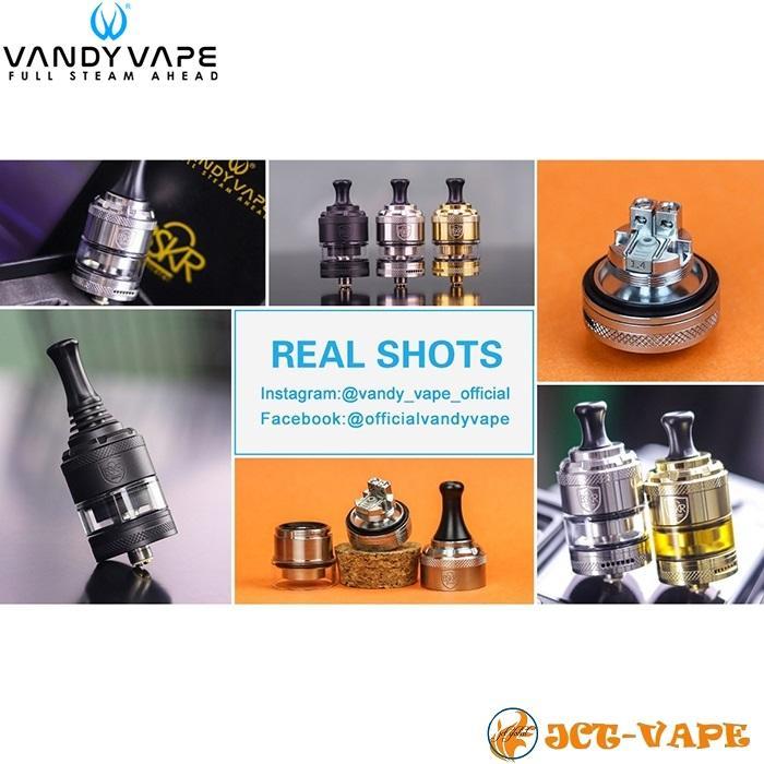 Vandy Vape Berserker V2 MTL RTA D24mm バンディー ベープ バーサーカー アトマイザー 電子タバコ jct-vape 12