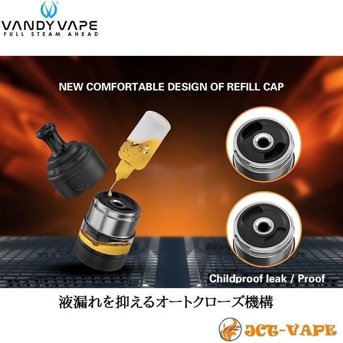 Vandy Vape Berserker V2 MTL RTA D24mm バンディー ベープ バーサーカー アトマイザー 電子タバコ jct-vape 06