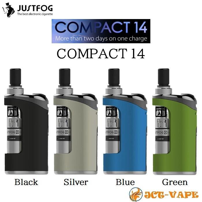 JUSTFOG COMPACT14 Starter Kit 電子タバコ VAPE jct-vape