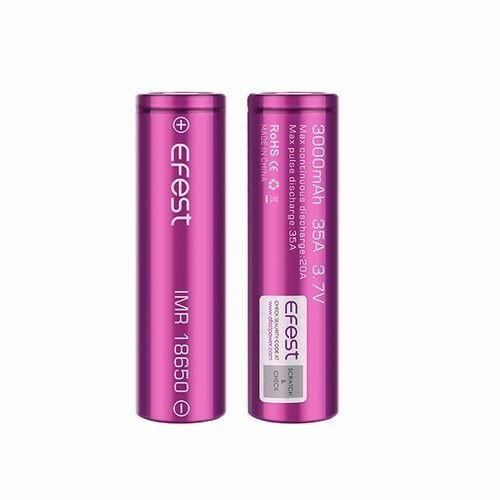 18650 3000mah 35A  2本セット リチウムマンガンバッテリー フラットトップ Efest 電子タバコ PSE認証|jct-vape|10