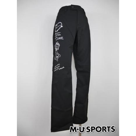 MUスポーツ ゴルフウェア ロングパンツ (LL寸:レディース) 秋冬/60%OFF/SALE