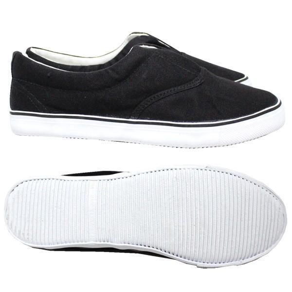 スリッポン メンズ 黒 白 ブラック ホワイト 紳士 靴 770|jefferywest|02
