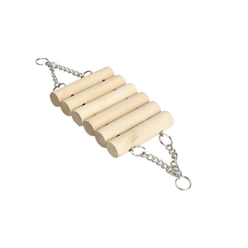インコ 止まり木 とまり木 はしご おもちゃ 吊り下げ 鳥 ブランコ 木製 小鳥 ボール|jellykeystyle|11
