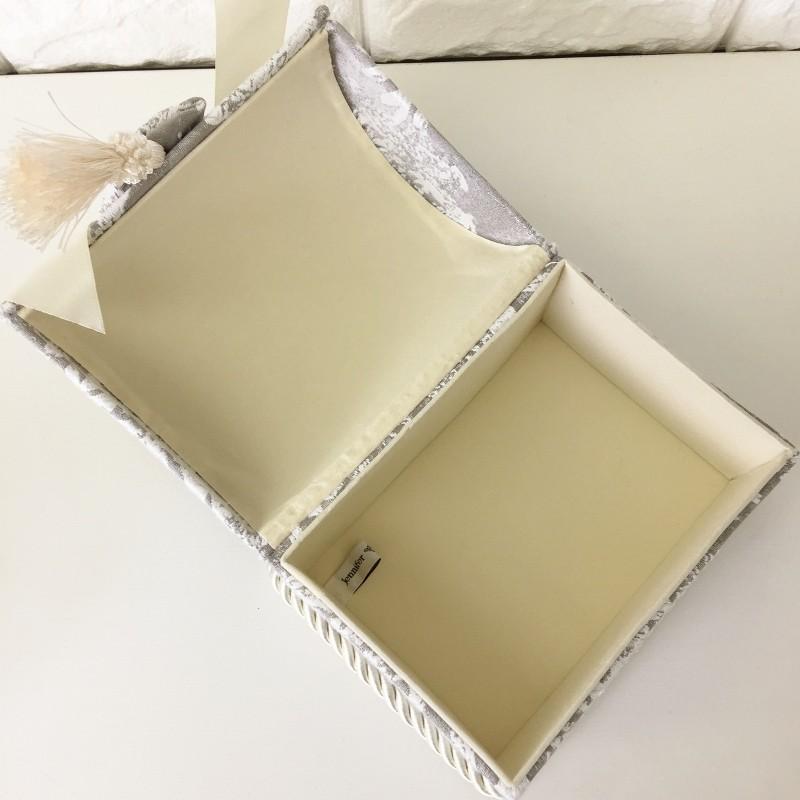 ジェニファーテイラー トランク BOX ボックス 小物入れ 収納 高級 おしゃれ かわいい エステ ネイル  raffine-GR Jennifer Taylor 32956BX|jennifertaylor|04