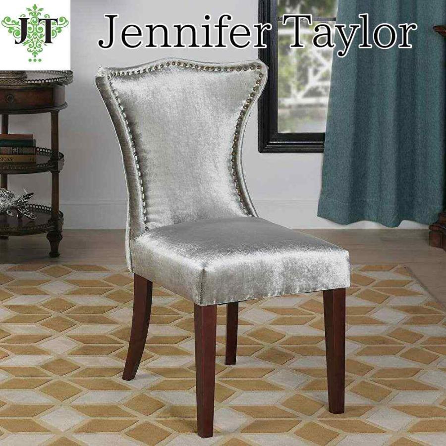 ジェニファーテイラー サイドチェア イス 椅子 布 布張り 高級 おしゃれ Lorena 674  Jennifer Taylor 36011CH-674|jennifertaylor