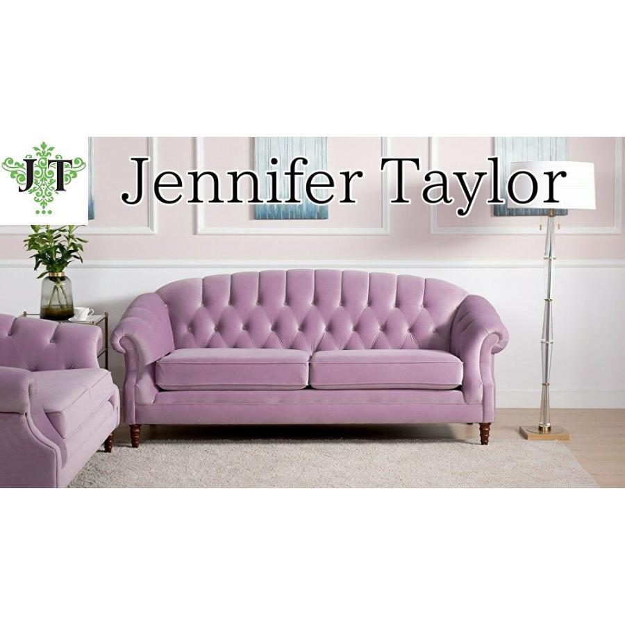 ジェニファーテイラー 3人掛け ソファ ソファー チェスターフィールド ボタン締め 布 布張り 高級 おしゃれ Bernadette ベロア Jennifer Taylor 36018SF-952