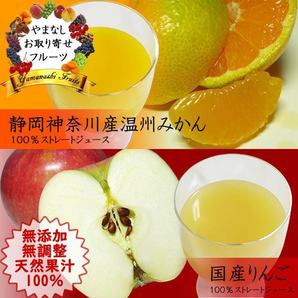御中元 お祝い ギフト 内祝 フルーツジュース 白桃 みかん オレンジ リンゴ 1L×2本 詰合せ 送料無料(一部地域を除く)|jerichojericho|02