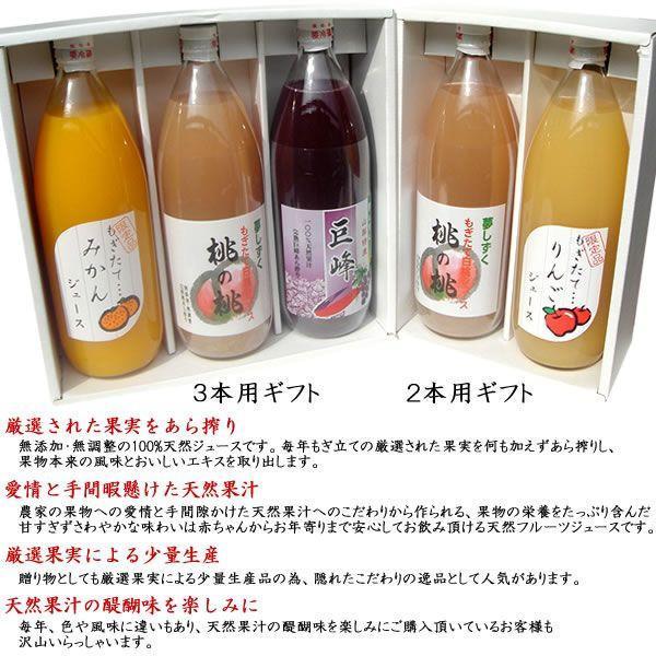 御中元 お祝い ギフト 内祝 フルーツジュース 白桃 みかん オレンジ リンゴ 1L×2本 詰合せ 送料無料(一部地域を除く)|jerichojericho|06