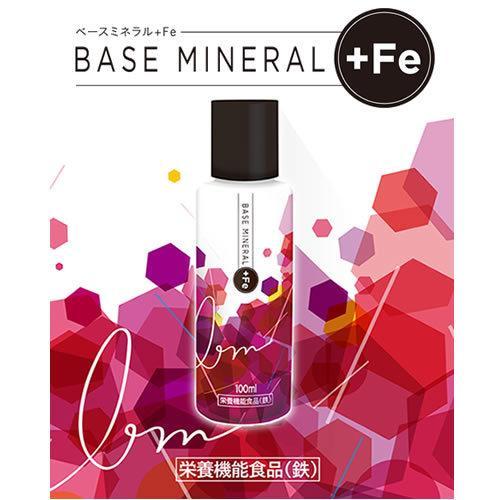 ベースミネラル+Fe 濃縮タイプ 100ml 栄養機能食品 鉄 鉄分 サプリ jes-mineral-honpo 03